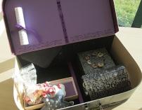 Le Nid Maternel, création de boîtes de souvenirs de vie