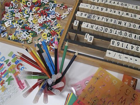 outils à art postal