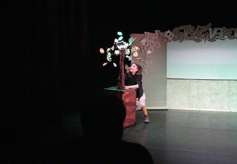 Lisa Lira, arbre et Lisabelle