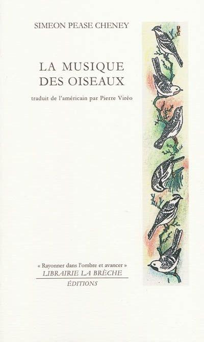 """Simeon Pease Cheney - livre """"La musique des oiseaux"""", portraits d'oiseaux."""
