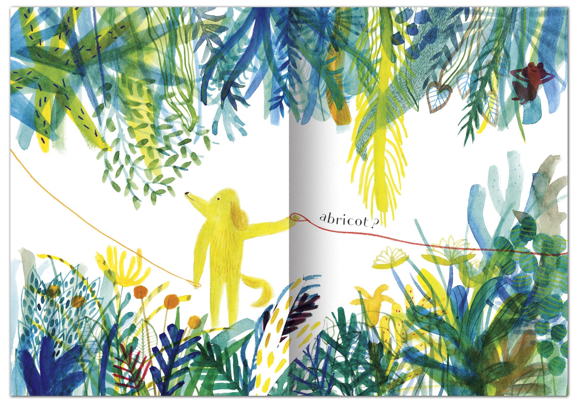 "Marion Barraud, autrice et illustratrice jeune public. Album ""La Laisse"""